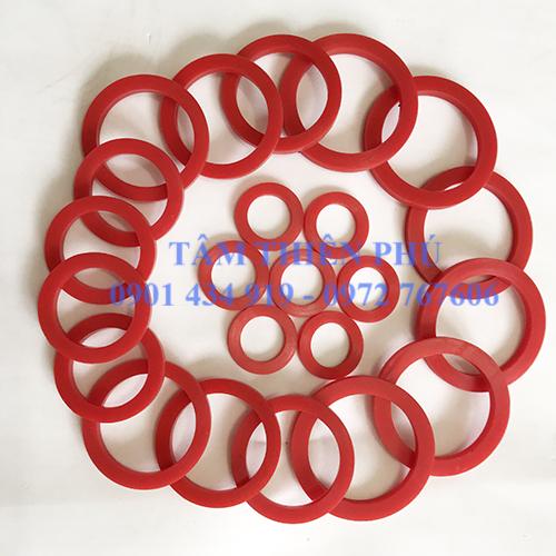Oring silicone chịu nhiệt màu đỏ