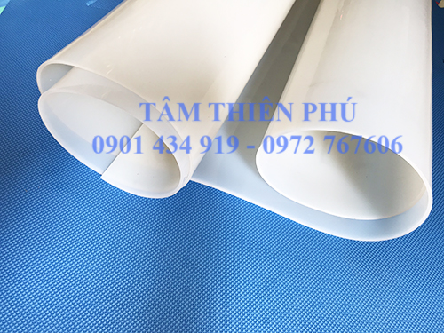 Cuộn silicone trắng dày 2mm